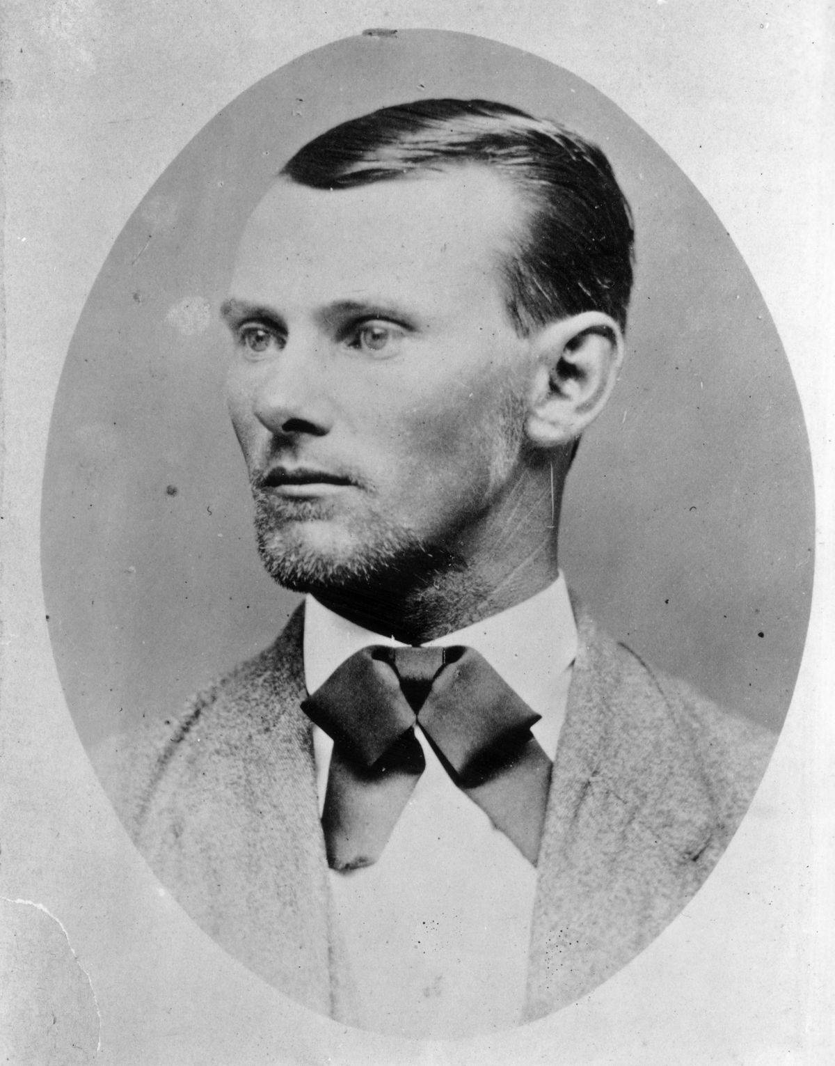 American outlaw Jesse James