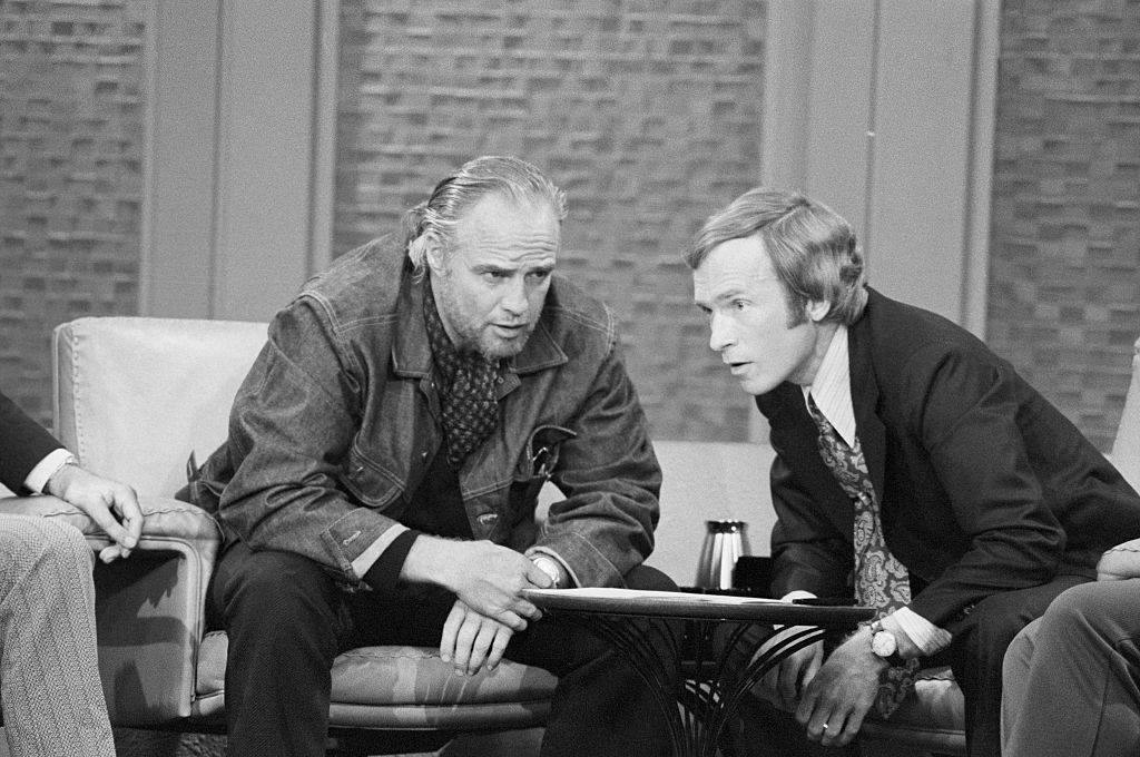 Brando and Cavett
