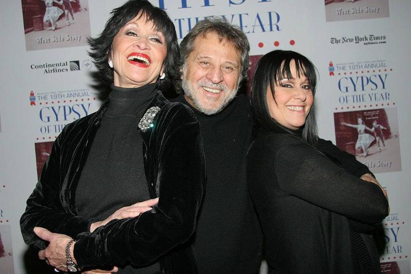 Chita Rivera and Tony Mordente