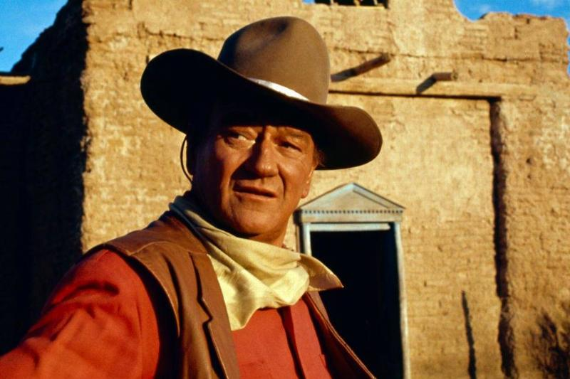 John Wayne in a Western