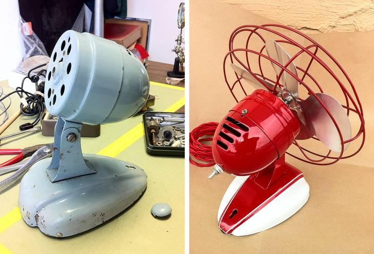 remodelled fan