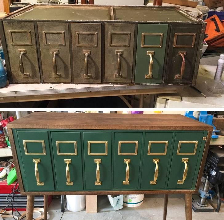 painted lockers