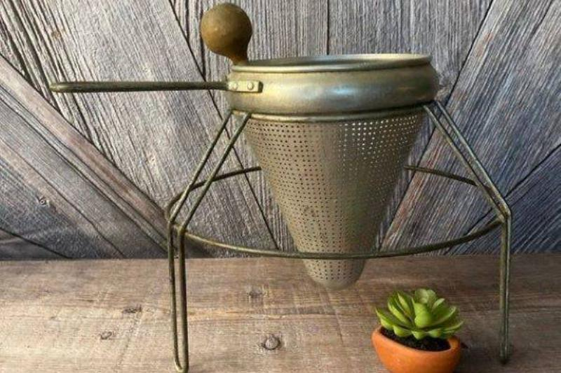 No Farmhouse Was Complete Without A Strainer Sieve