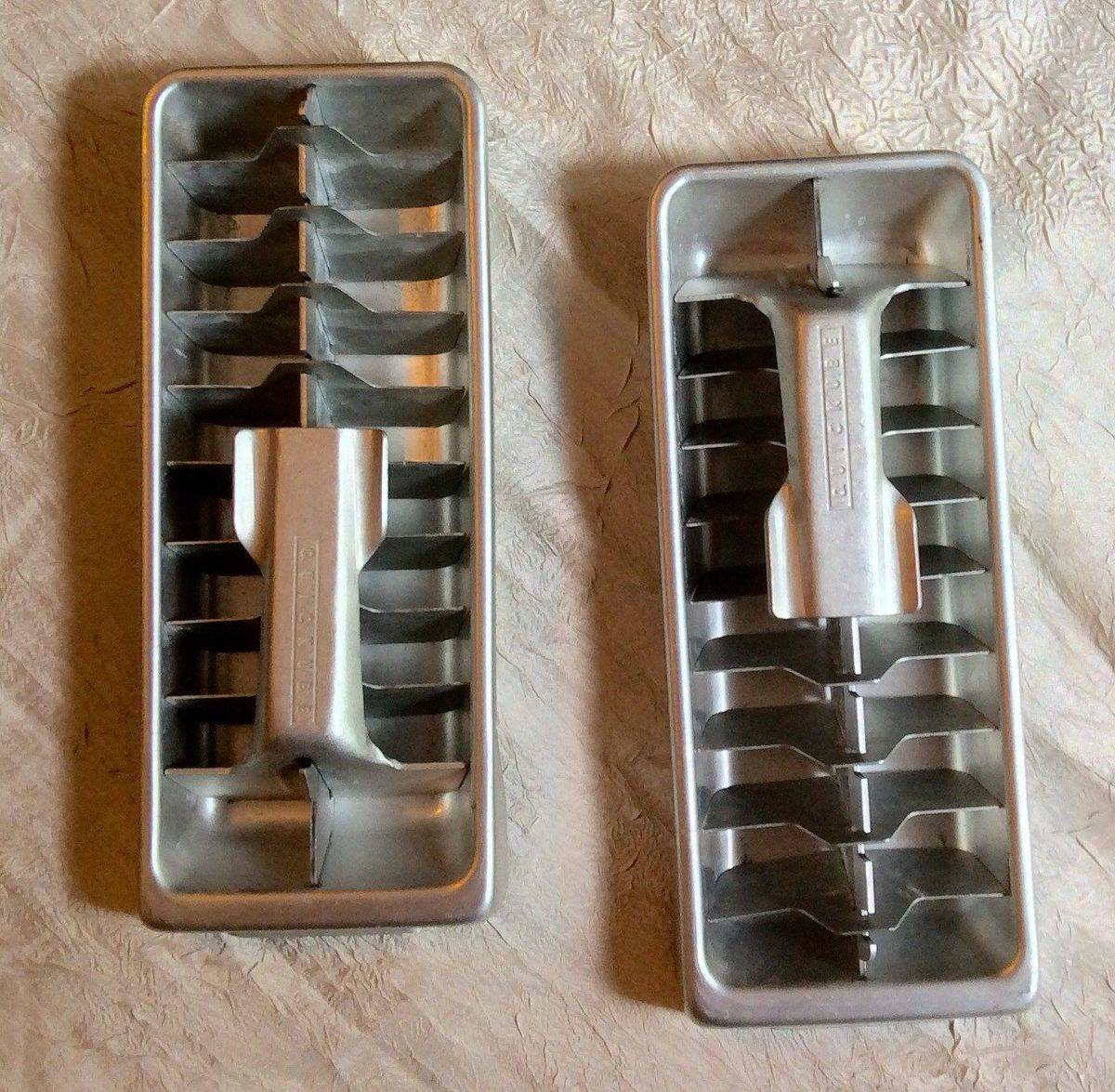 People Used To Make Ice In Aluminum Trays