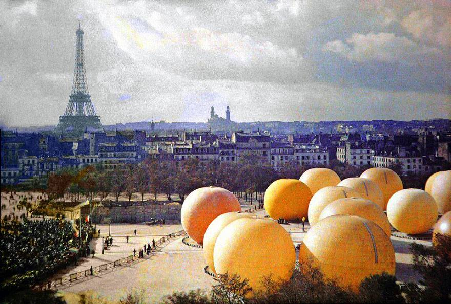 inflatable oranges