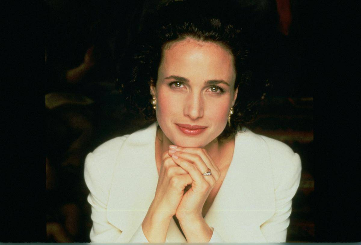 Andie MacDowell As Carrie in Four Weddings And A Funeral