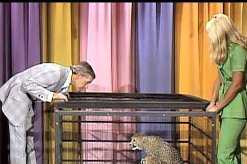 Carson and cheetah