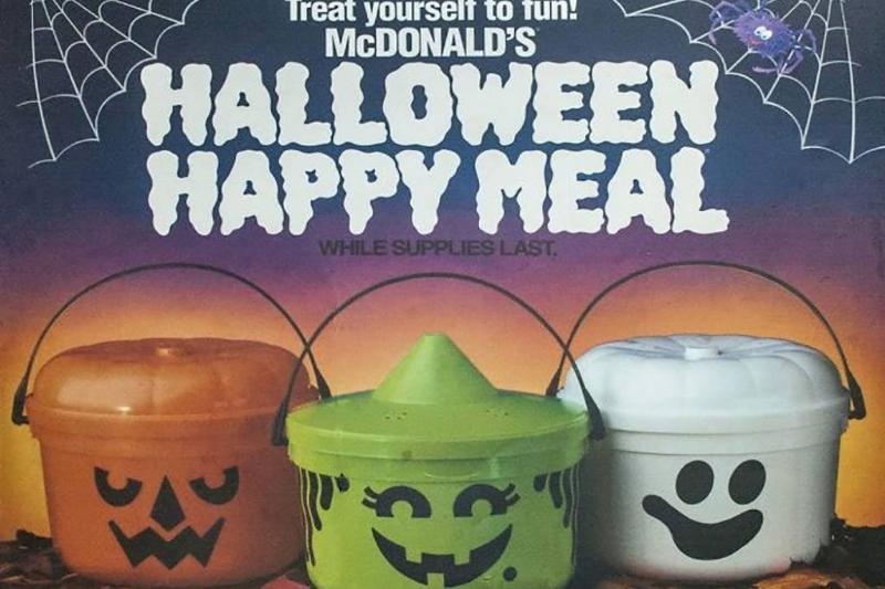 Halloween Happy Meals