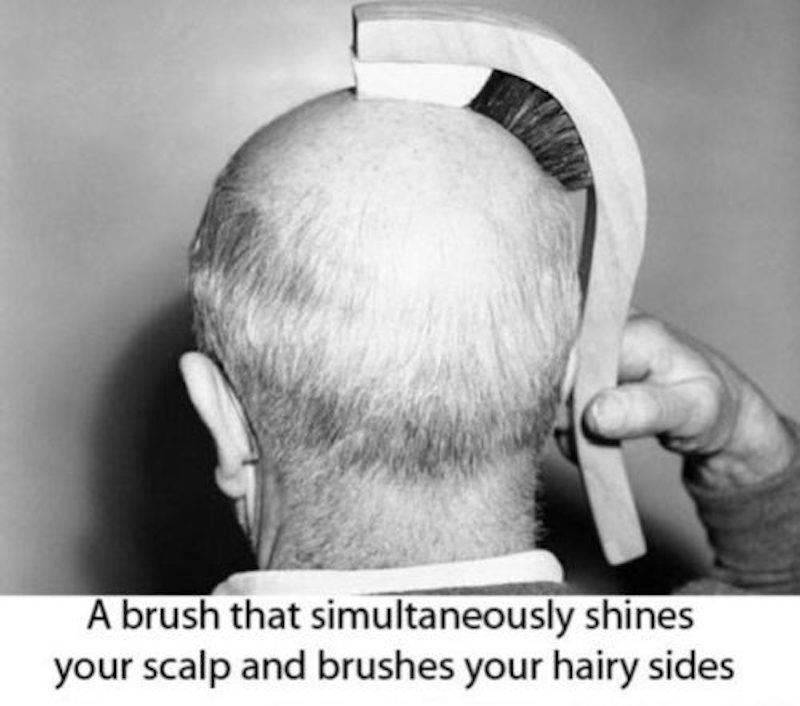 bald brush