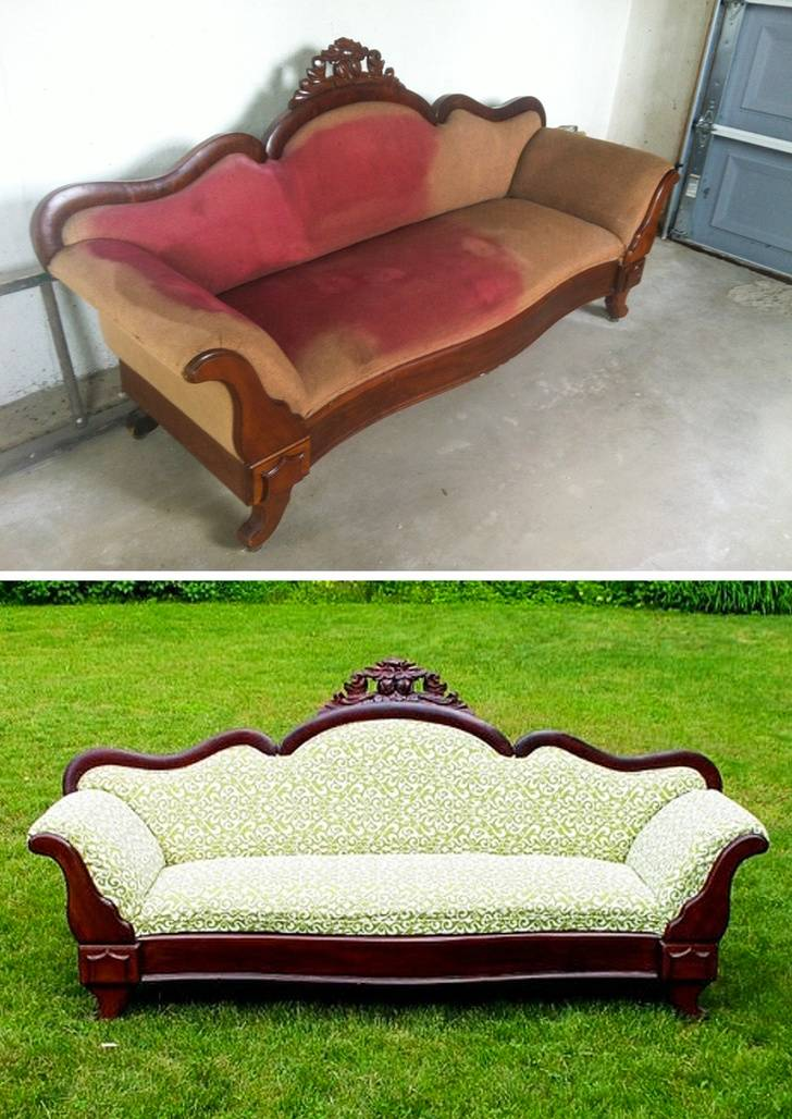 upcycled couch