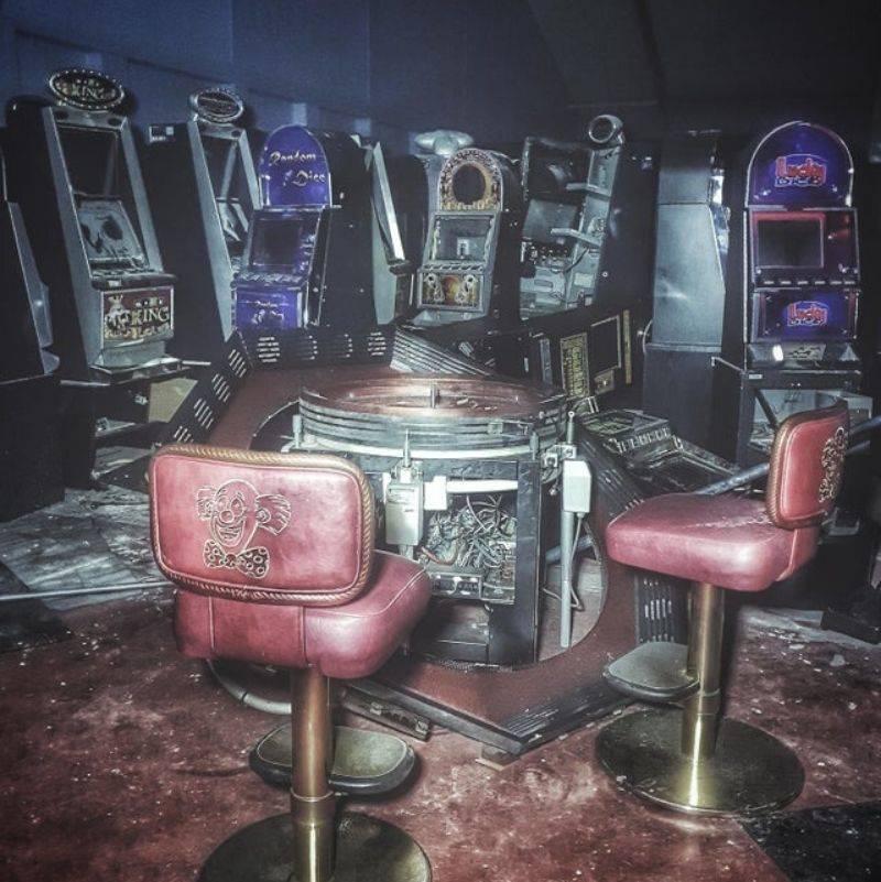 old casino equipment