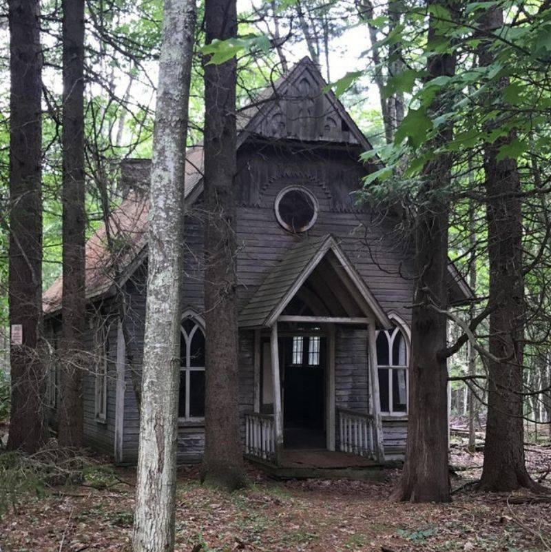 a church from the 1800s