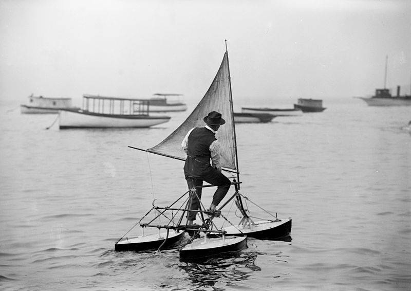 800px-Man_operating_water_tricycle,_ca._1900