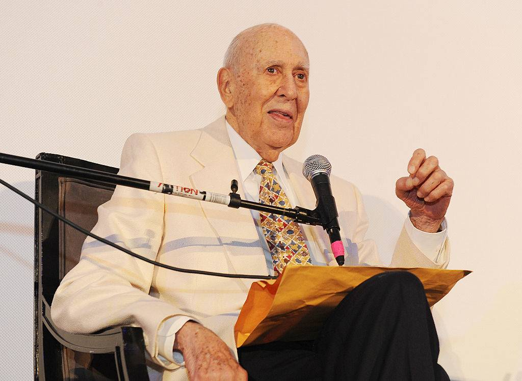 Carl Reiner attends the Opening Night Gala of the LA Jewish Film Festival
