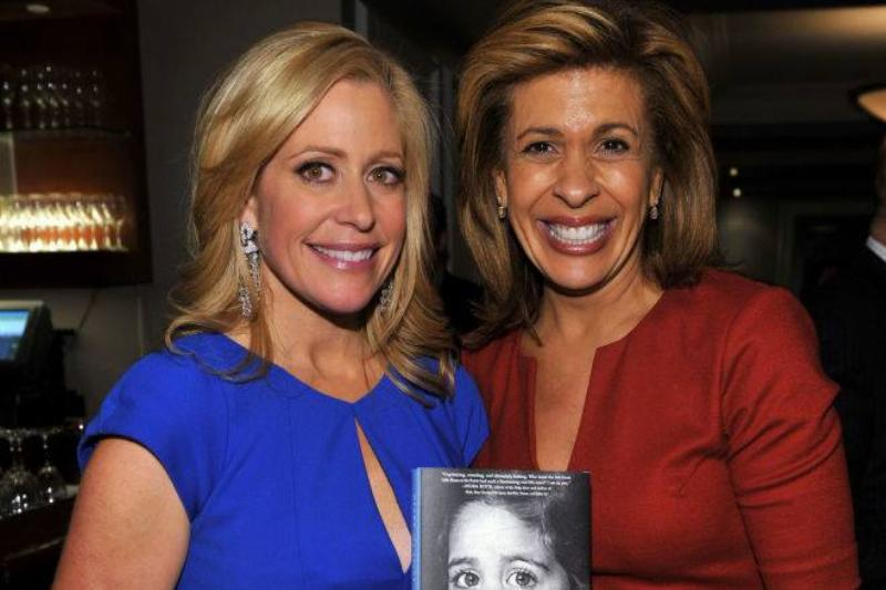 Fox Business Network anchor Melissa Francis and co-anchor of the fourth hour of the