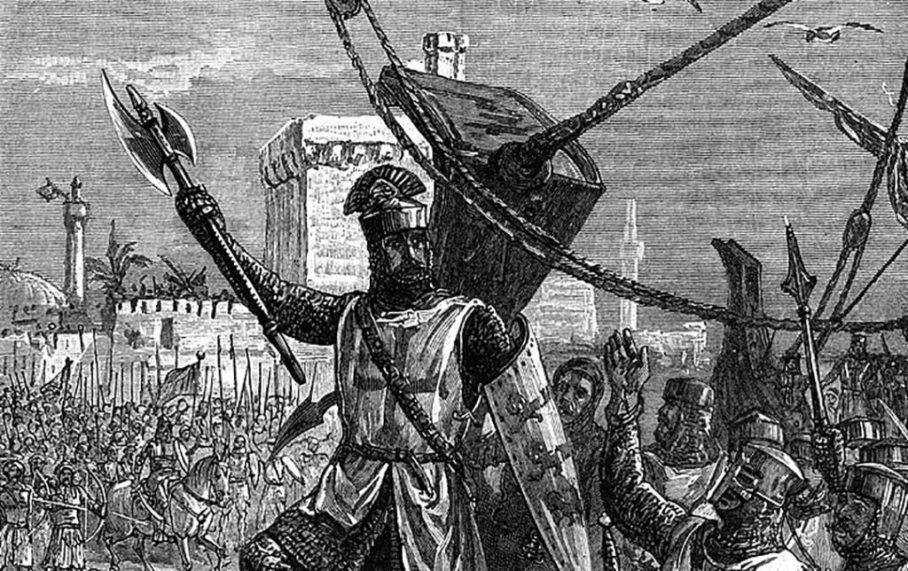 King Richard attacking