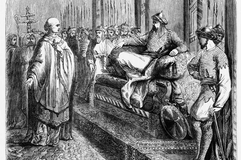 Bishop with Saladin