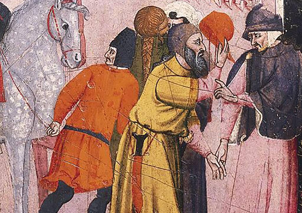 Painting of Saladin