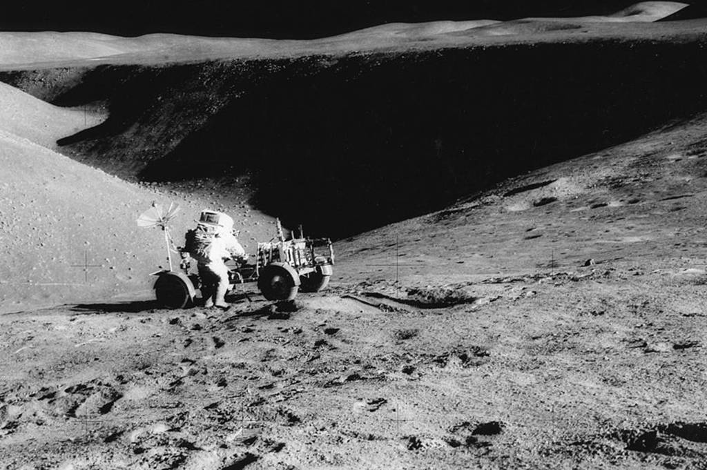 Buggy on the moon