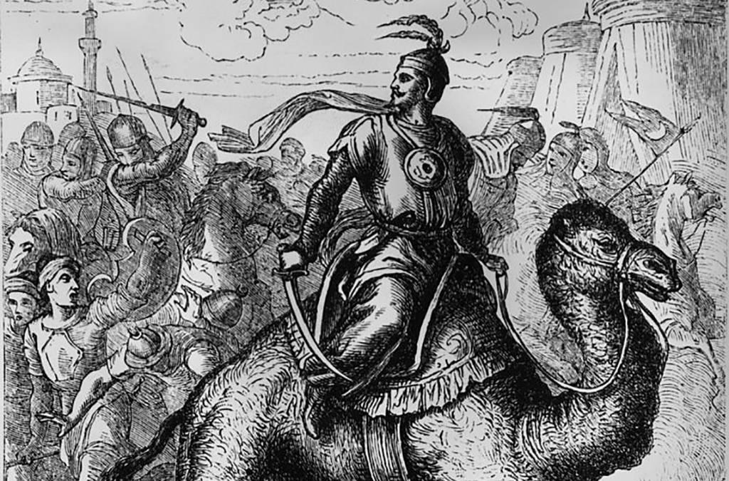 Drawing of Saladin