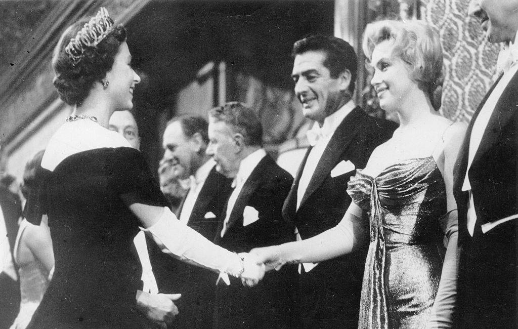 Marilyn and the Queen