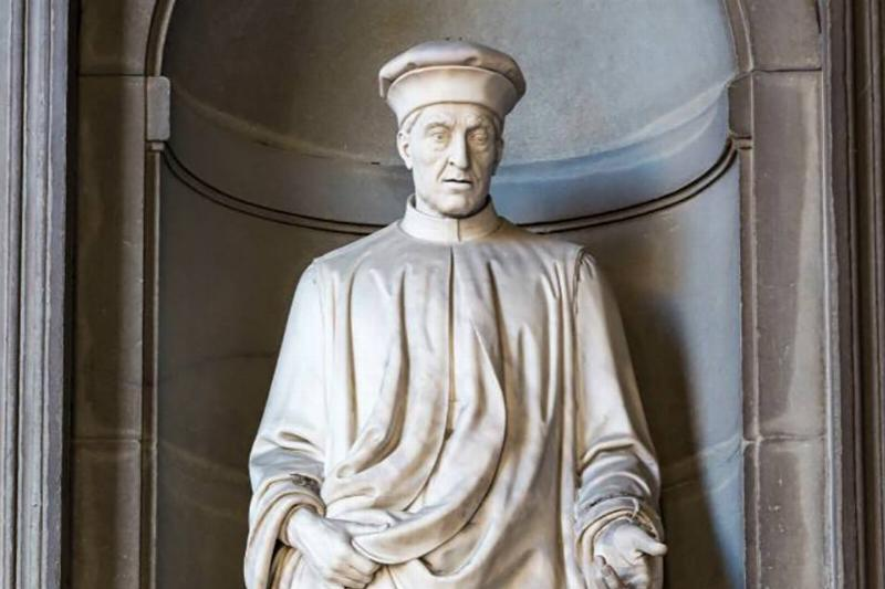 Sculpture of Cosimo