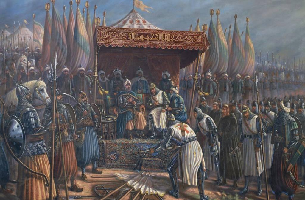 King Richard Surrendering