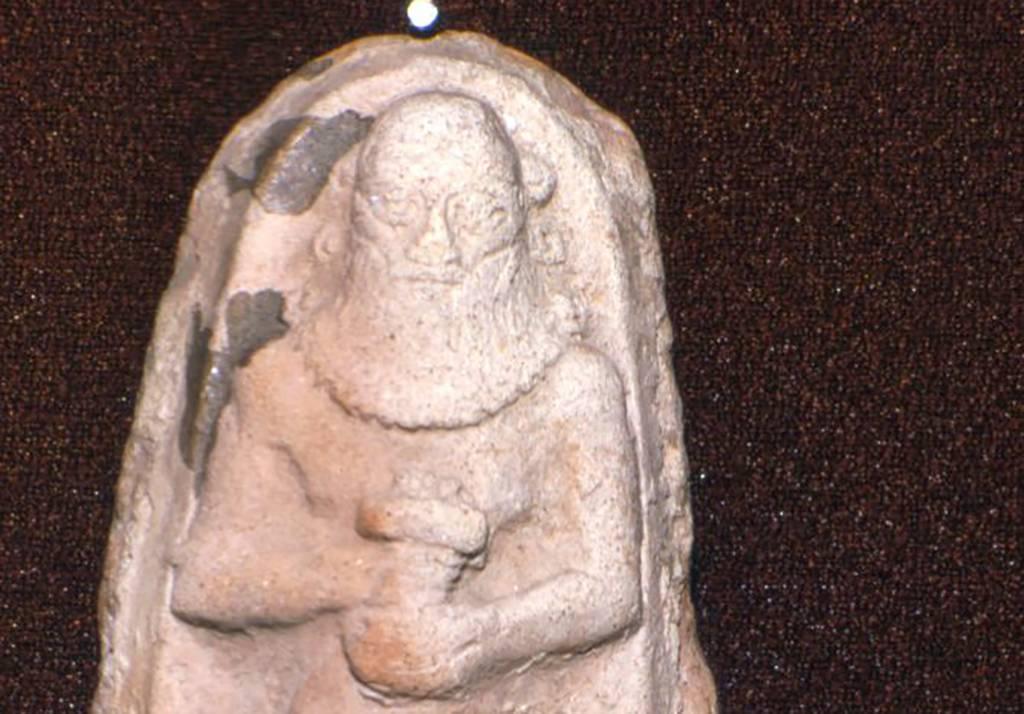 Terra cotta statue