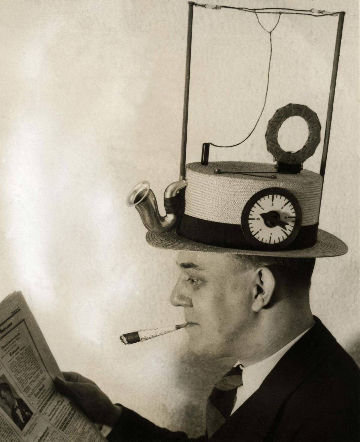 hat with built in radio