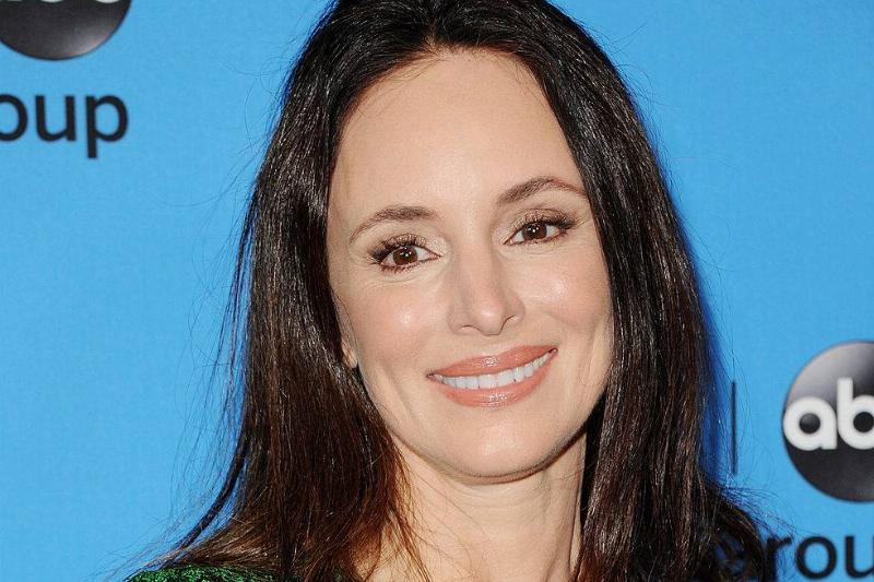 Actress Madeleine Stowe arrives at the Disney/ABC Party