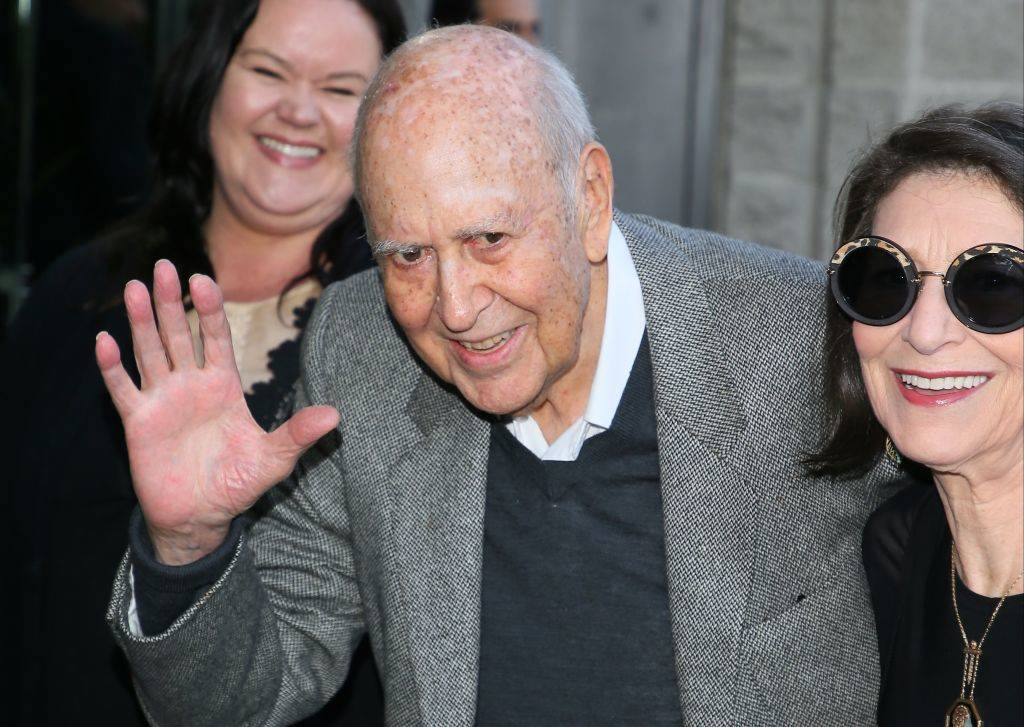 Carl Reiner attends the premiere of HBO's 'If You're Not In The Obit, Eat Breakfast'