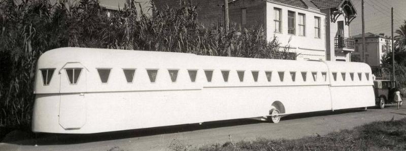 extendable caravan from 1934