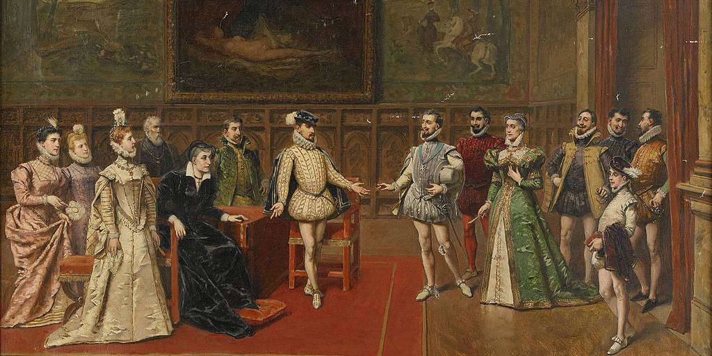 Meeting of Medici family members