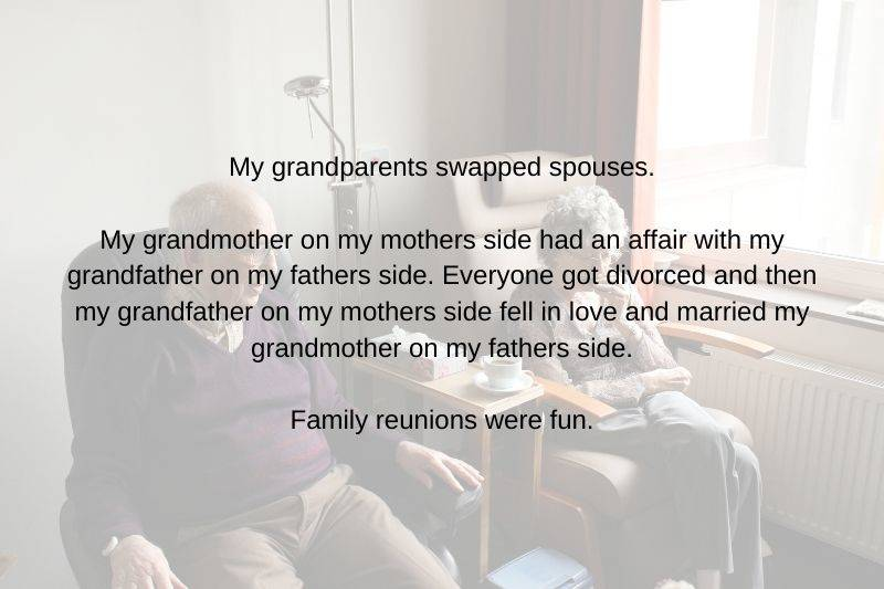 grandparents who swapped spouses