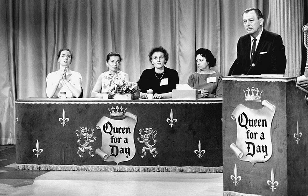 Contestants on Queen for a Day