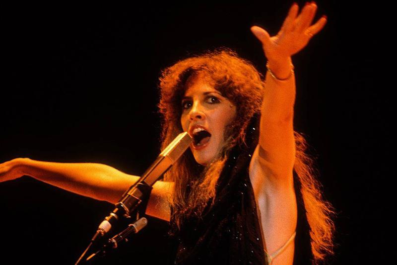 Stevie Nicks performs with Fleetwood Mac at the Cow Palace in December 1979