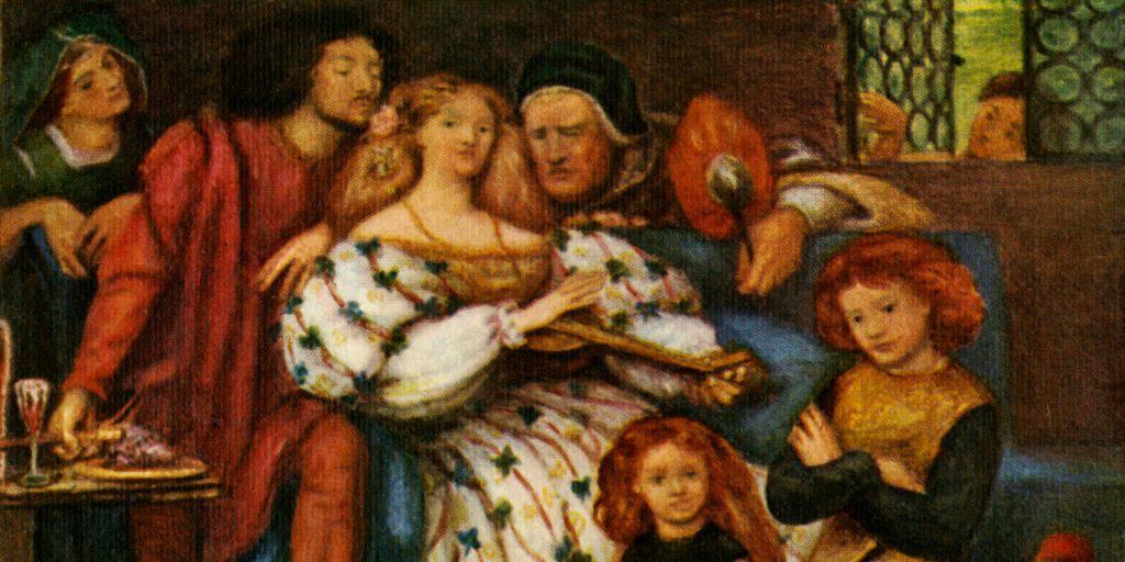 Painting of the Borgias