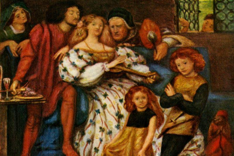 Painting of the Borgia Family