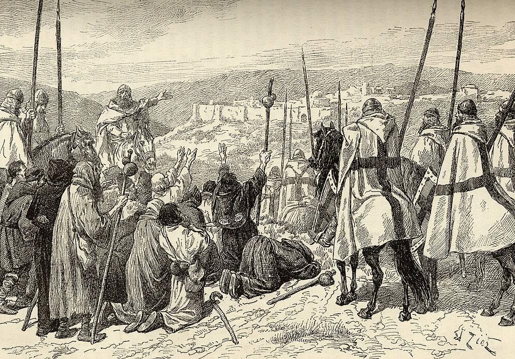Templars Leading Pilgrims