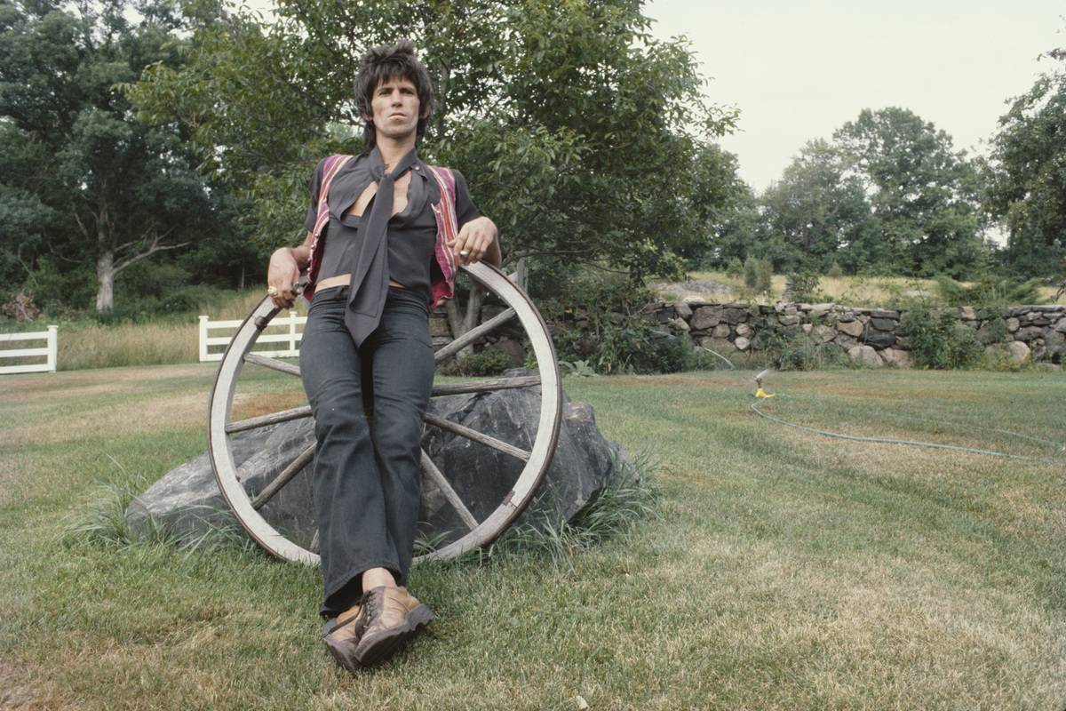 Who Is Keith Richards Without A Guitar In His Hand?