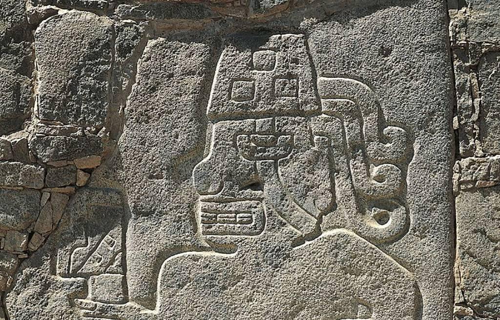 Relief of Chavin warrior