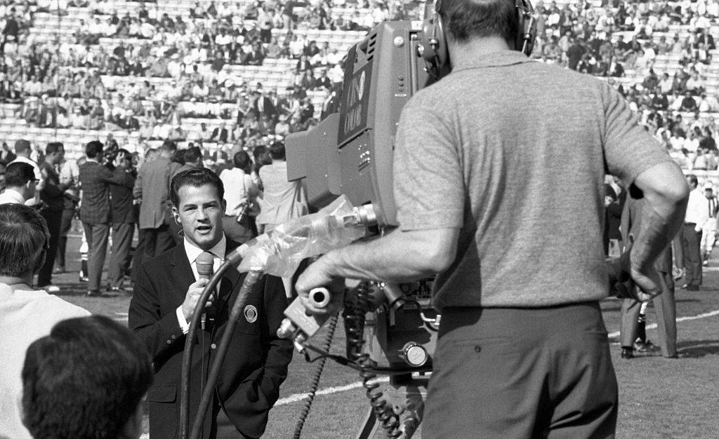 Filming the Super Bowl