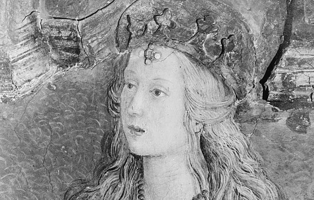 Painting of Lucrezia