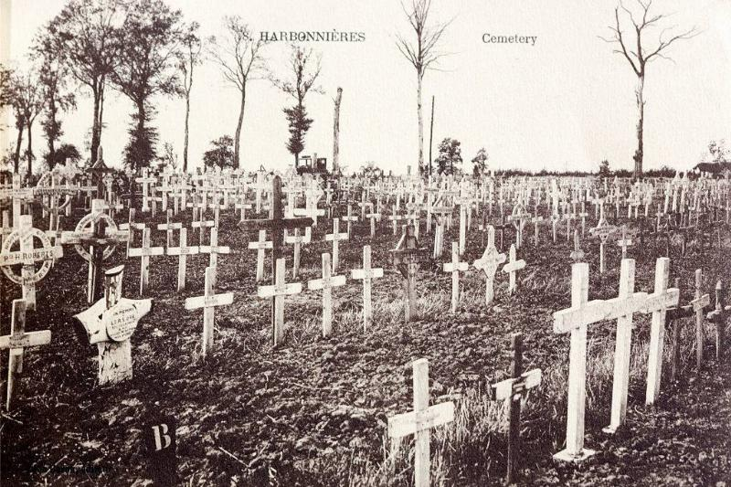 Picture of a cemetery