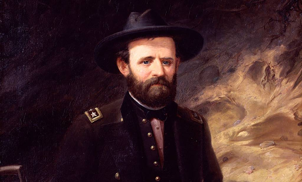 Painting of Grant