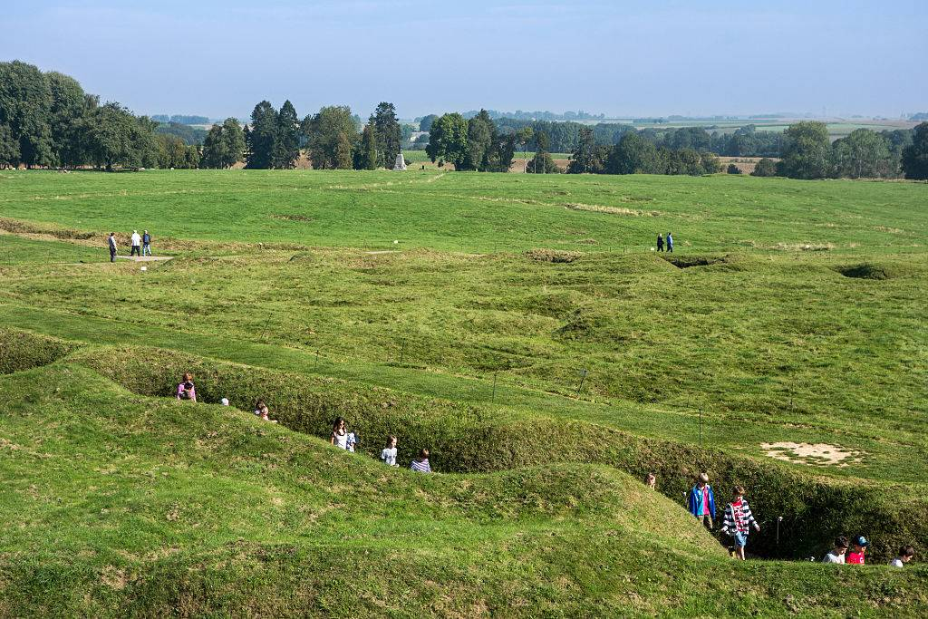 Picture of trenches