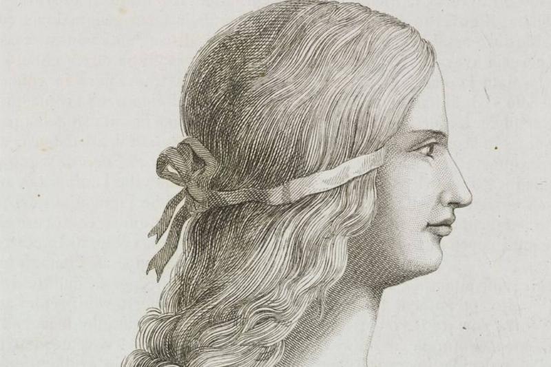 Illustration of Lucrezia