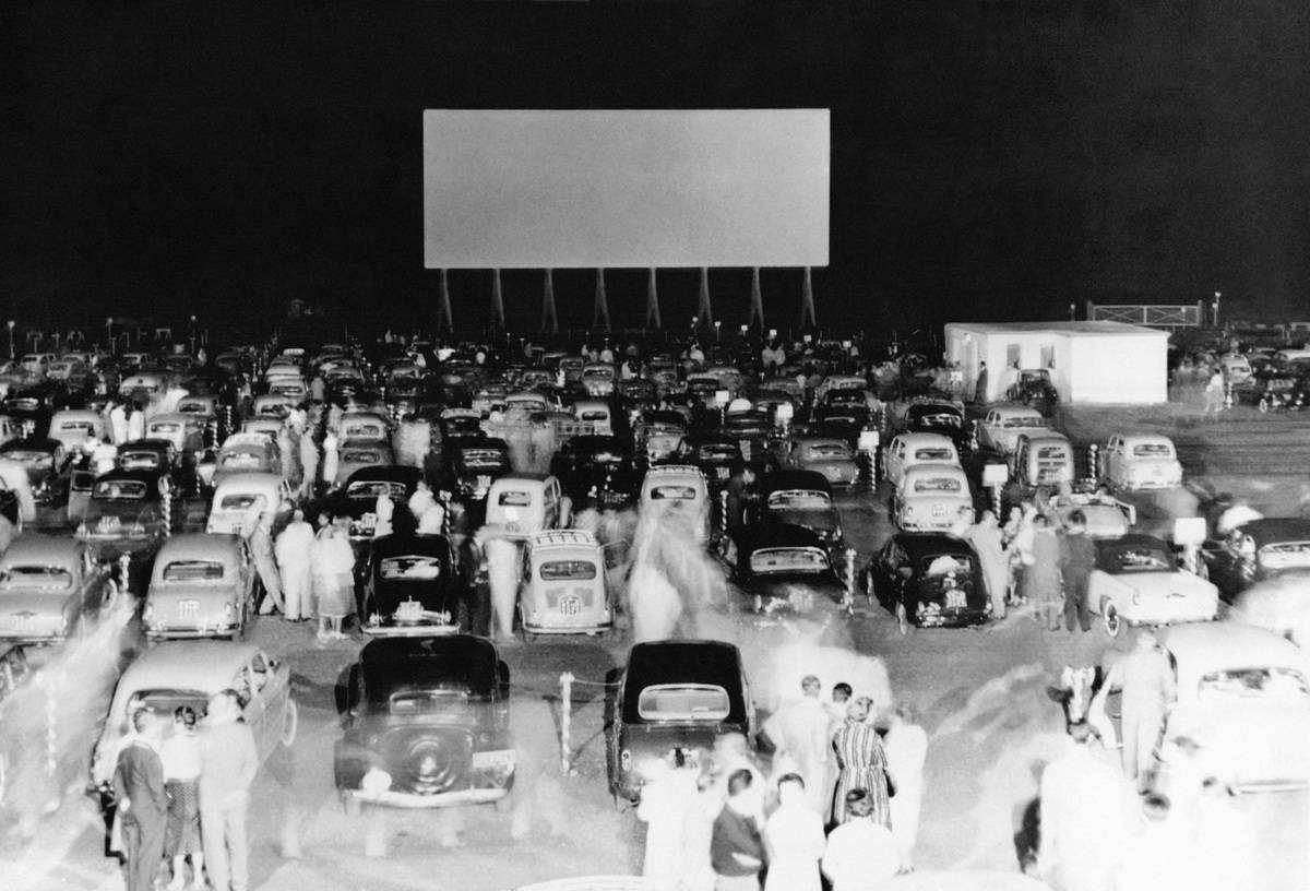 The 1950s Were A Time To Bring A Date To The Drive-In