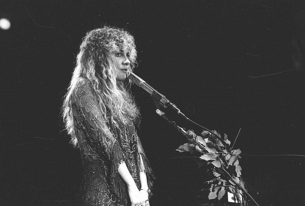 Singer Stevie Nicks of the rock group