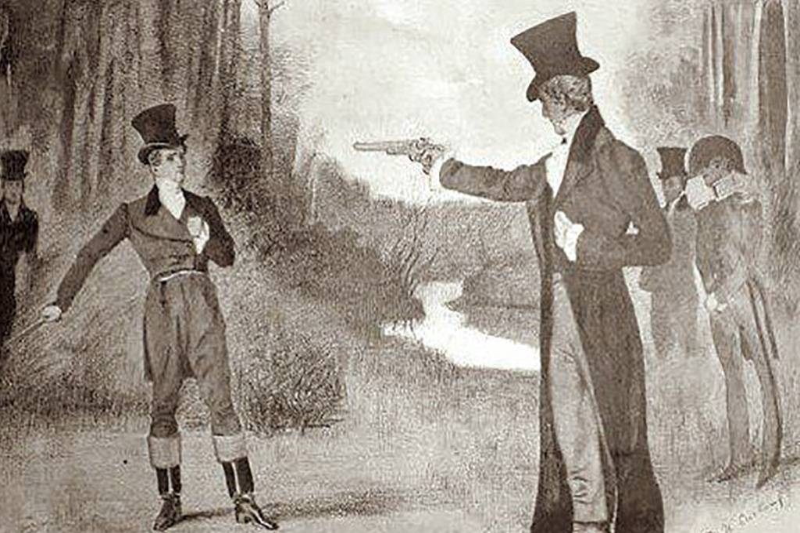 Jackson kills Dickinson